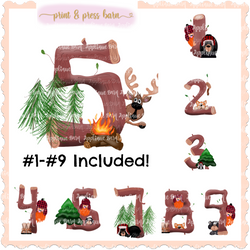 Lumberjack Number set