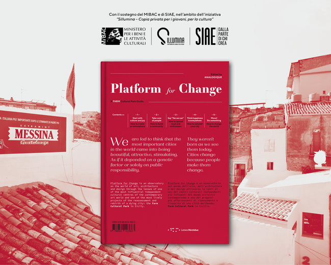 """Platform for change"" - LetteraVentidue"
