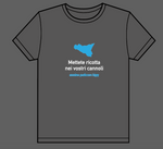 "T-shirt ""Mettete ricotta nei vostri cannoli"" (""Put ricotta in your cannoli"")- Putia"
