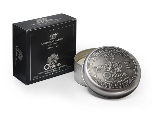 "Per LUI: ""Black Beard"" (opuntia luxury set da barba) - Saponificio Varesino (sapone da barba)"