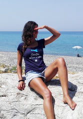 "T-shirt ""Sicilia, amore e iodio"" (""Sicily, love and iodine"")- Putia"