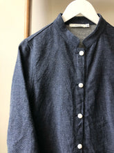 Denim Cotton Linen Work Jacket