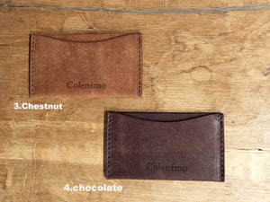 Leather Oyster Card Holder