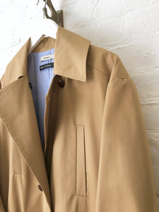 Shower Proof Gaberdine Wide Pea Coat