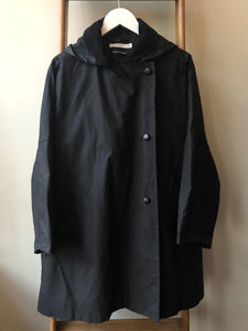 Cotton Wax Poncho Rain Coat