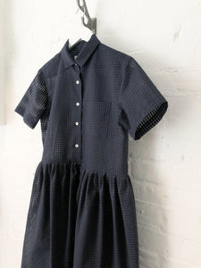 Gingham Organza Summer Dress