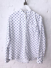 Cut Jacquard Cotton Dots Top