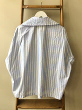 Stripe Cotton Bathing Shirt