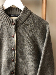 Lambswool Wool Shetland Yarn Cardigan