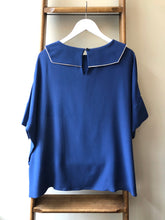 Pure Silk Backwards Sailor Top