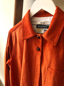 Cotton Corduroy Dress Coat