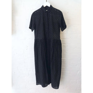 Cotton Cut-work Embroidery Dress