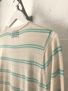 Silk Cotton Mix High-gauge Summer Knit