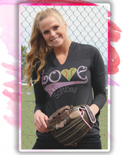 L♡VE Softball (Pink)