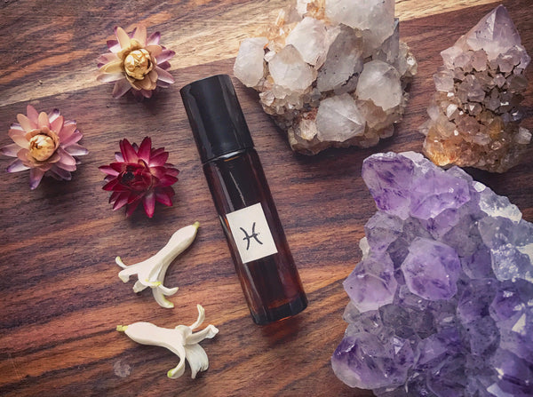 Pisces Anointing Oil // The Visionary Mystic