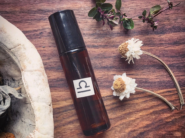 Libra Anointing Oil // The Poised Artist