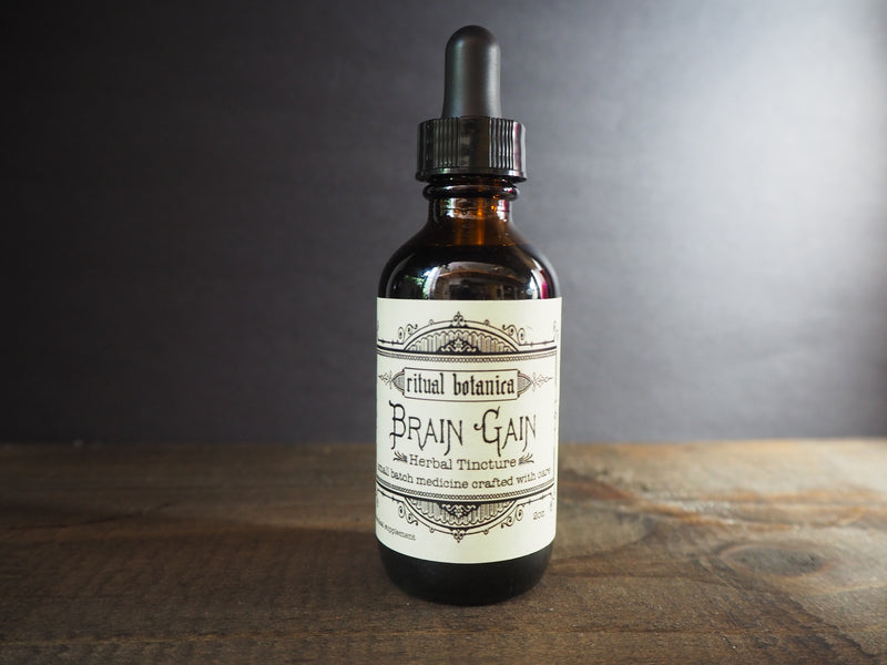 Brain Gain // tincture