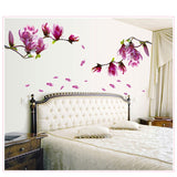 Magnolia Blossom Wall Sticker [NO MORE GLOOMY WALLS]