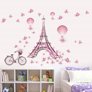 Magical Eiffel Tower Wall Decor [THE CITY OF LOVE IN YOUR OWN HOME]