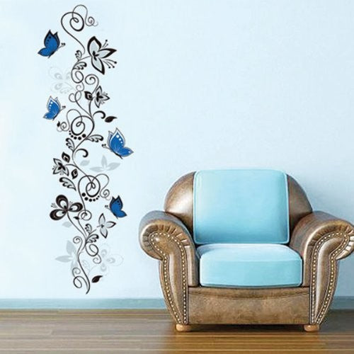 Flower and Butterfly Wall Decor [NO MORE BORING WALLS]
