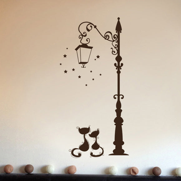 Kitty Date Night Wall Vinyl [LOVE IS IN THE AIR]