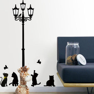 Kitty Cat Street Lamp [AREN'T WE ALL CAT LOVERS]