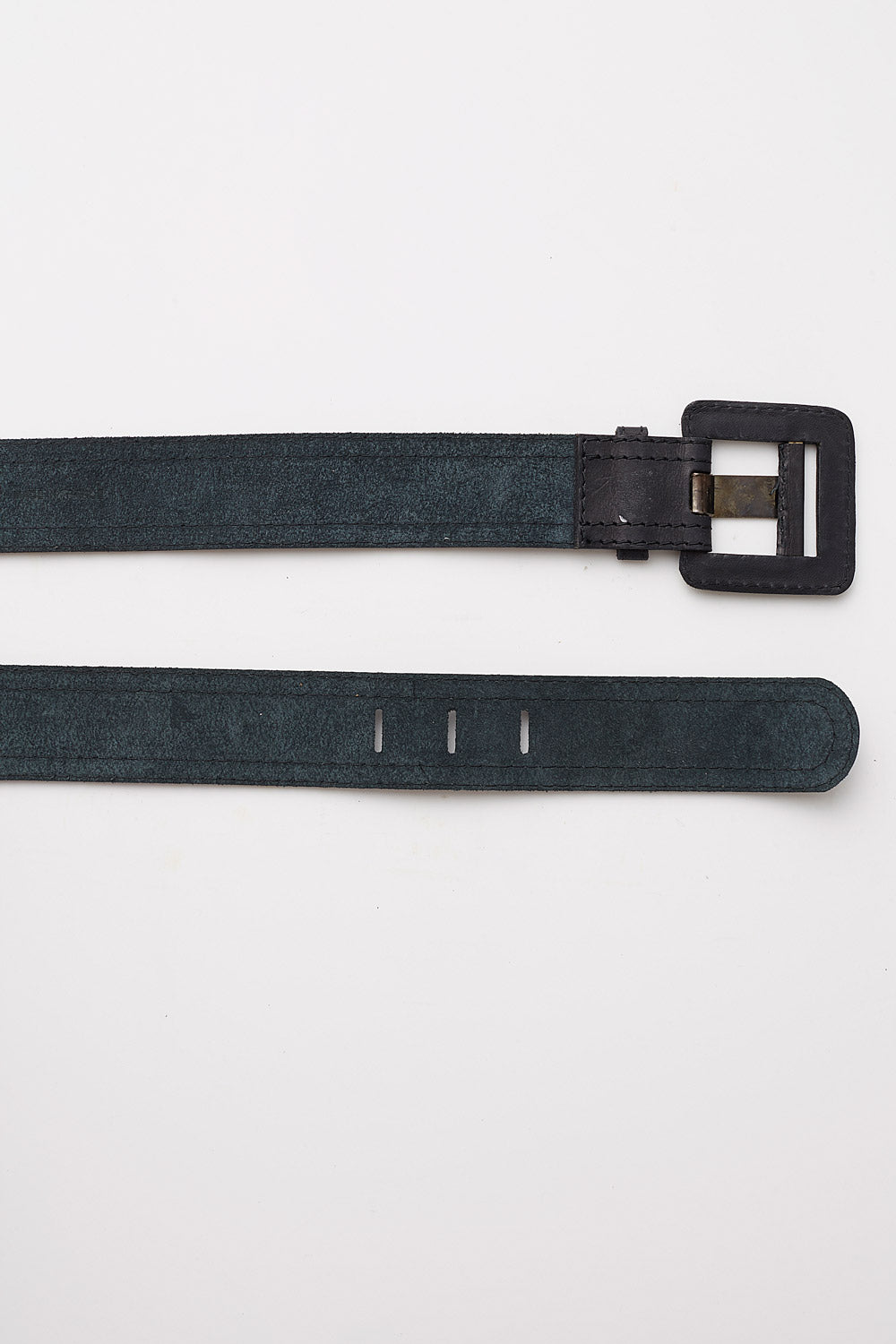 Yves Saint Laurent<br>1970's soft leather belt
