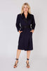 Yves Saint Laurent <br> 1980's silk & wool 'Le Smoking' tuxedo wrap dress