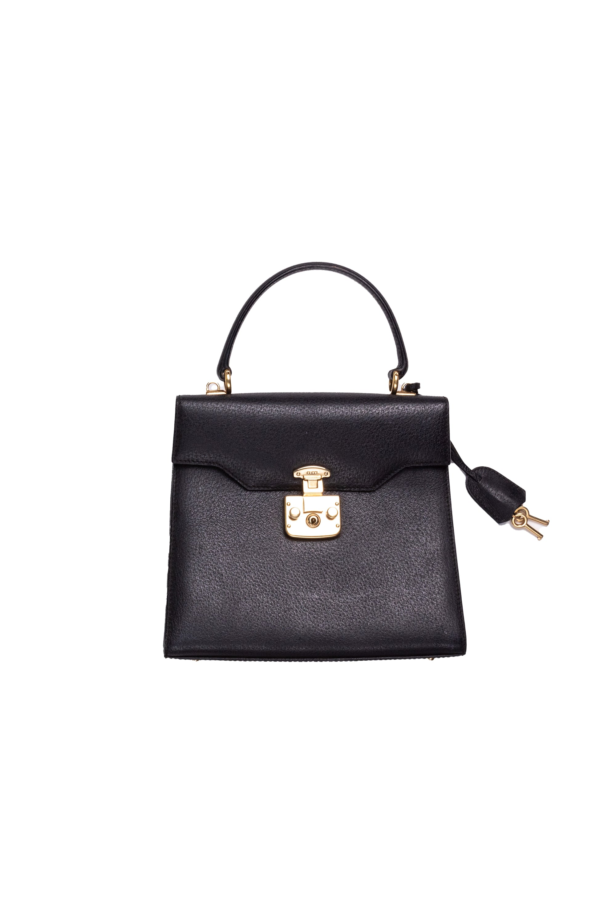 Gucci <br> 90's Gucci by Tom Ford leather Kelly bag