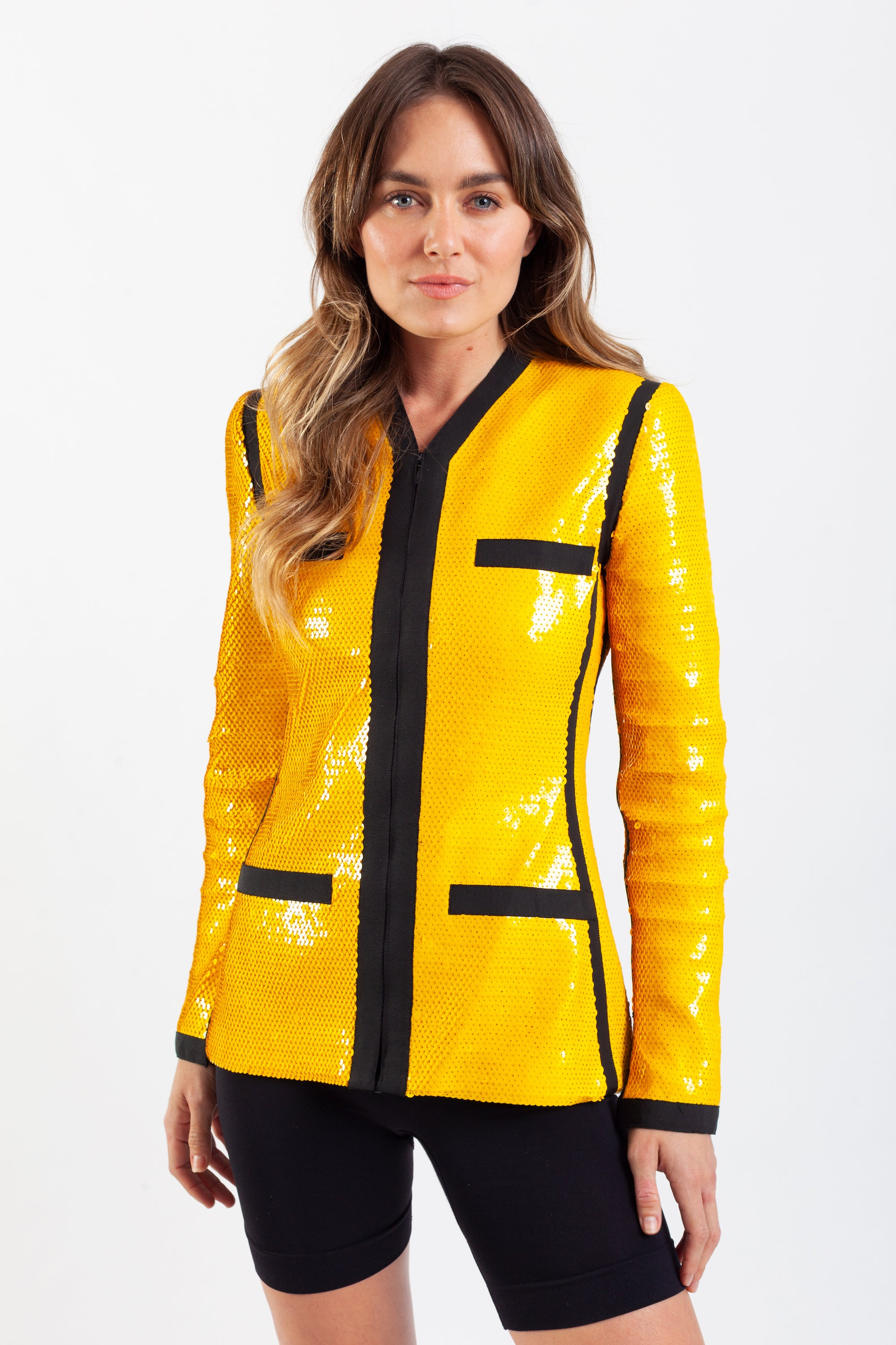 Chanel <br> S/S 1991 iconic 'City Surfer' sequin jacket