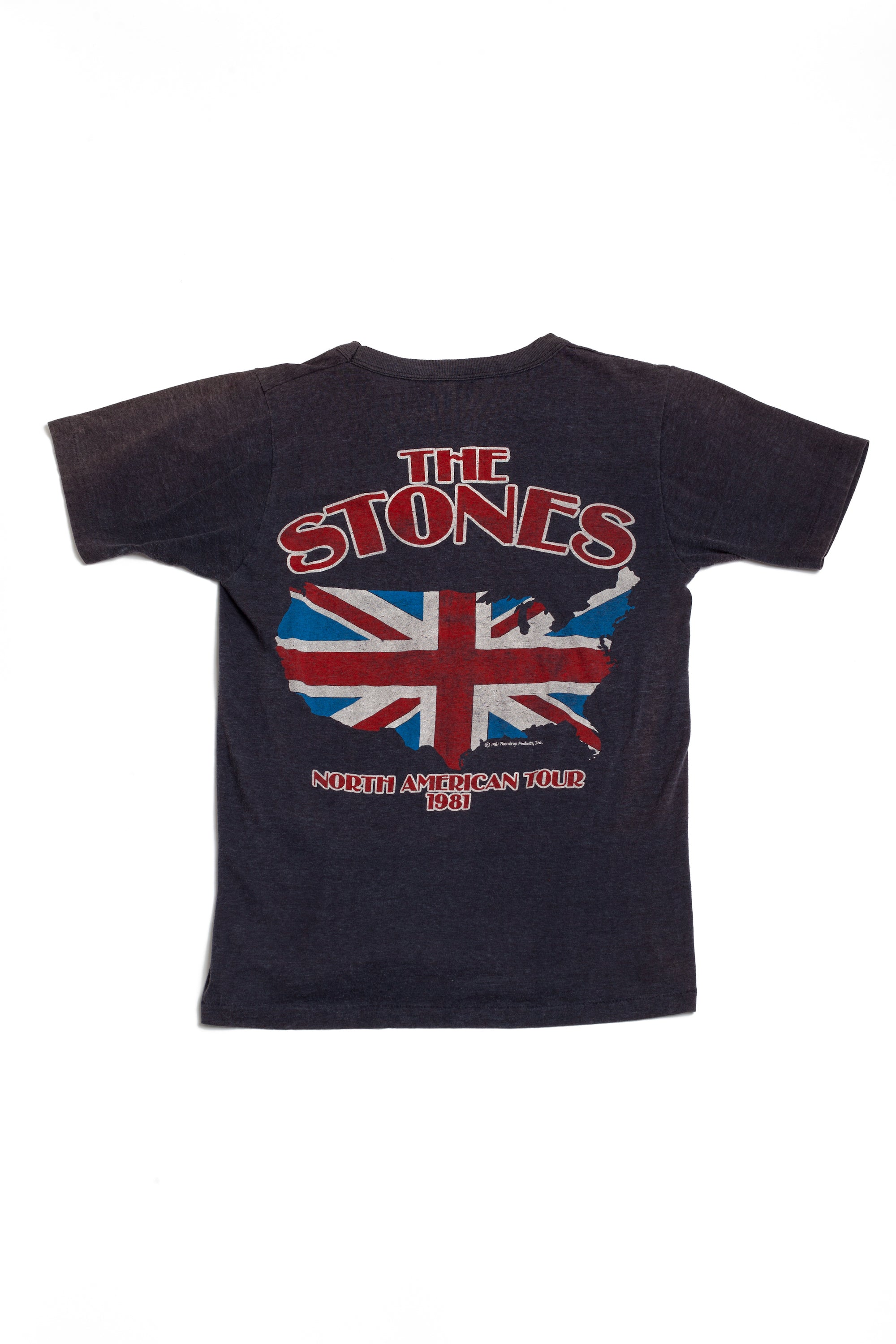 Vintage <br> 1981 The Rolling Stones tour t-shirt