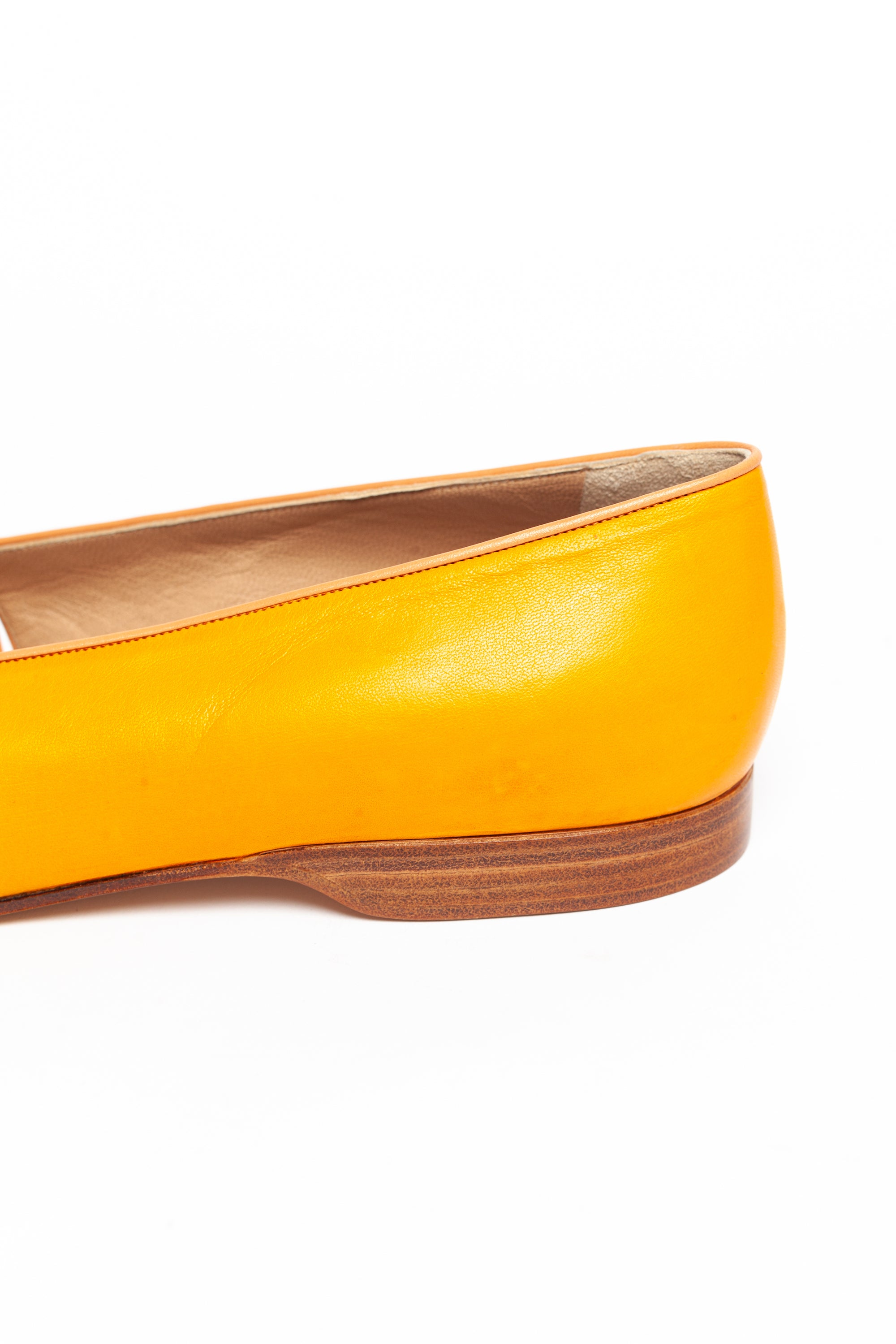 Maud Frizon <br> 1980's cut out leather flat sandal