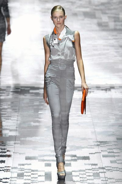 Gucci <br> S/S 2010 runway high waisted cargo pants