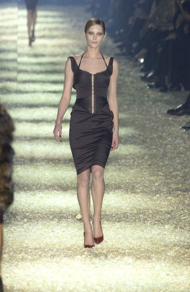 Gucci <br> F/W 2003 Tom Ford runway corset two piece ensemble