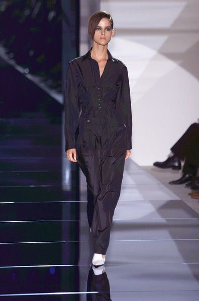 Gucci <br> S/S 2001 Tom Ford runway silk cargo pants