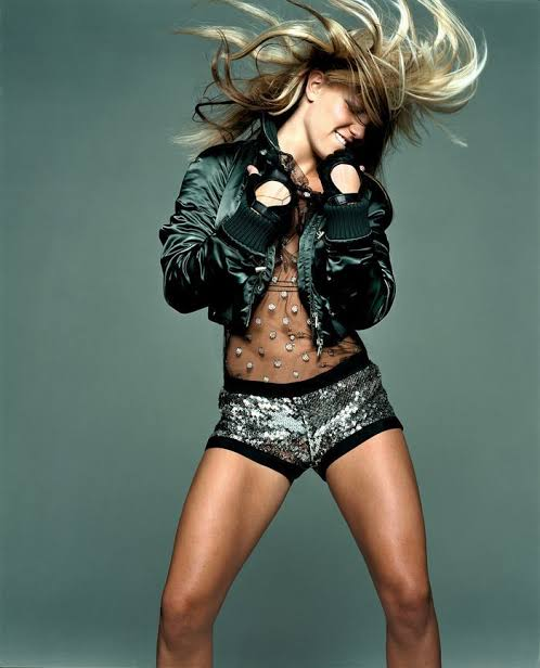 Chanel <br> A/W 2003 runway sequin hotpant shorts