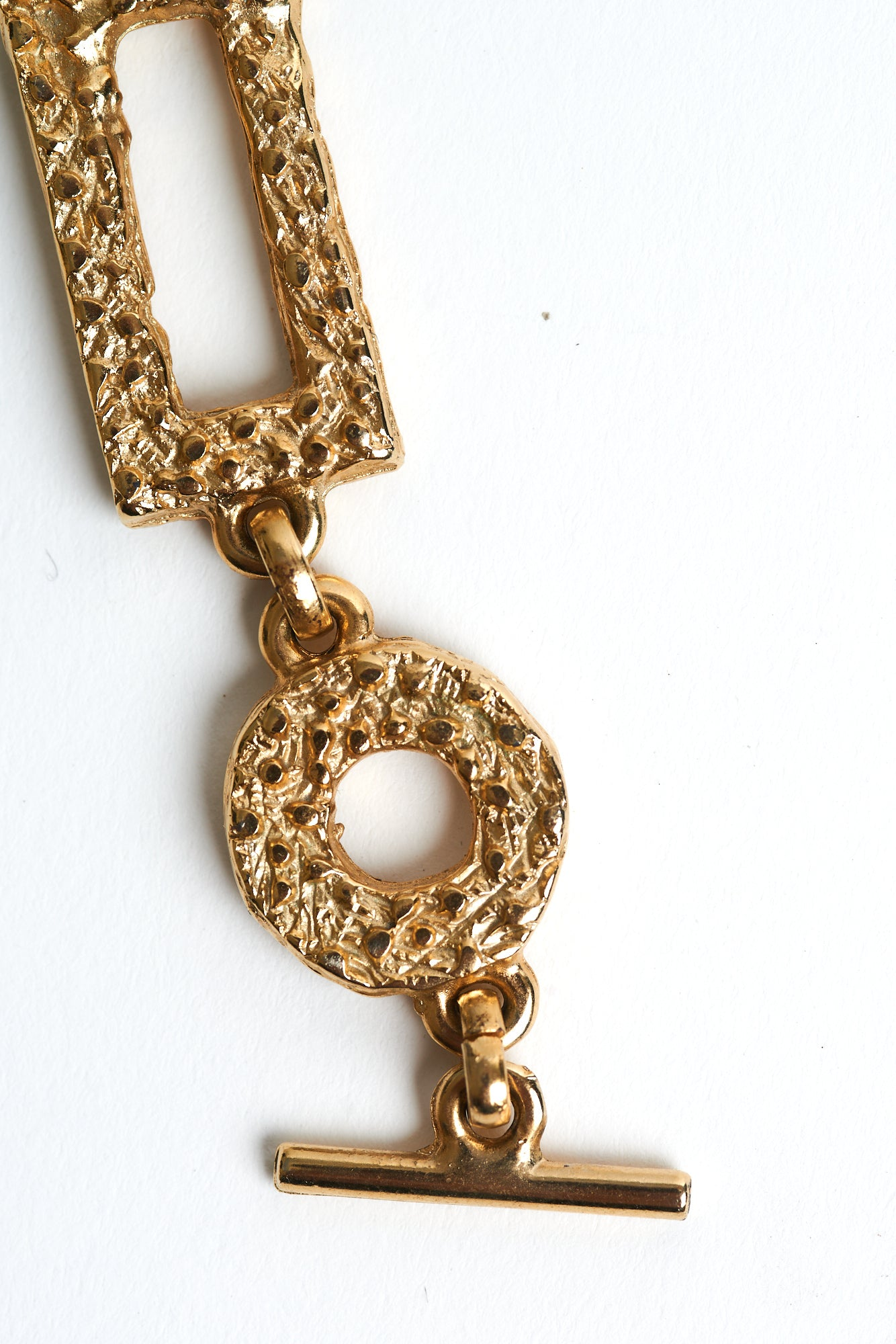 Pierre Cardin <br> 70s/80s gold plated chain link necklace/belt