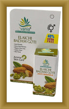 Load image into Gallery viewer, Vania Elaichi Badam Goti 25 Gm, TRAVEL SOAP,goti soap,facial soap,facial glow soap,fairness soap,badam goti,nandini badam goti,kesar goti,goti,fairness cleanser, a set of 12 pcs