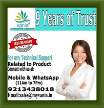 "Load image into Gallery viewer, For any Technical Support Related to Product, Vania Natural Anti Rashes Premium Gel, Connect with us at, Mobile & WhatsApp, Email, Rashes gel,waxing gel,waxing rashes,under arm rashes,baby diaper rashes,adult diaper rashes,CURE FULL BODY RASHES, PRE & POST WAXING GEL, THREADING, BRA STRAPS, BIKINI ""V"" AREA, UNDERARM, BLEACHING, COOLING, CUTS, BRUISES, BABY DIAPER, ADULT, BRUISES, CHAFING, BLISTERS, vagina Rashes, Praveen Enterprises, 9 Years of Trust, Trusted Brand"