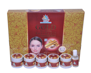 Vania Gold Facial Kit & Gold Bleach Cream