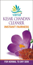 Load image into Gallery viewer, Combo of vania Kesar Chandan Cleanser 35 Gm (25 Gm + 10 Gm FREE inside MRP Rs69*3=207)