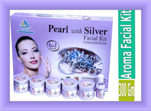 Vania Pearl With Silver Facial Kit  300gm