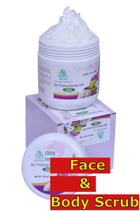 Combo of Vania Skin Polishing SPA Cream 500Gm + Skin Polishing Rice Bran SPA Scrub 500 gm.