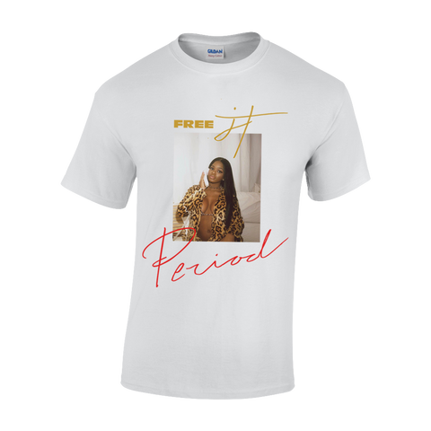 """FREE JT"" White T-Shirt + Digital Album"