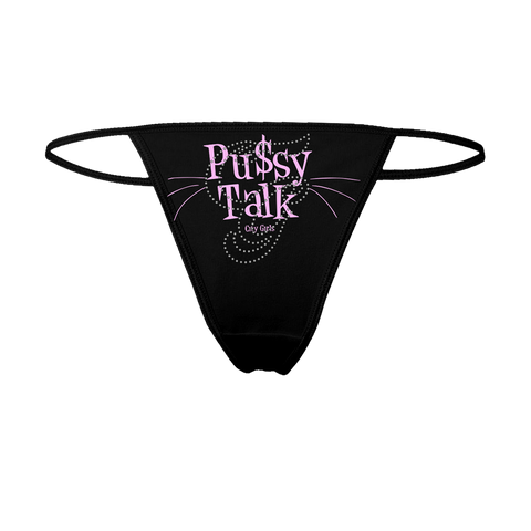 PUSSY TALKS THONG + DIGITAL MIXTAPE