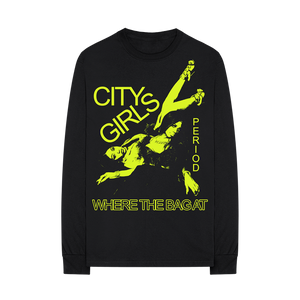 Where The Bag At Black Long Sleeve Shirt + Digital Album