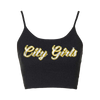 City Girls Black Tank Top + Digital Album