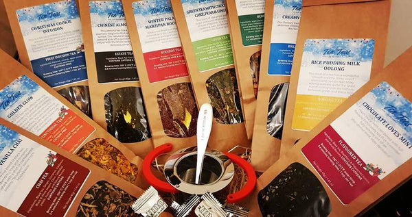 Eco-Friendly Ten Teas Explorer Box