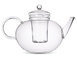 4-6 Cup Glass Infuser Teapot (1.2 L) - Loose Leaf Tea Subscription Boxes