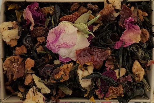 Peaches and Cream - Loose Leaf Tea Subscription Boxes